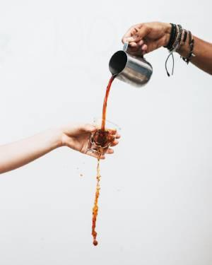 петна от кафе