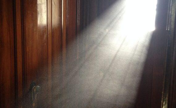 dust, doorway, door